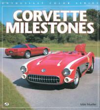 CORVETTE MILESTONES 1953-1996 CHEVROLET RACERS STINGRAY SR-2 Z06 ZR1 LT-1 INDY P