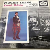 "KENNETH McKELLAR FAVOURITE BALLADS  ORIGINAL  VINYL 7"" SINGLE RECORD"