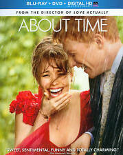 About Time (Blu-ray Disc, 2014, 2-Disc Set)