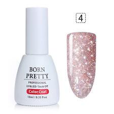 10ml Nail Art Soak Off UV Gel Polish Platinum Starry Colorful BORN PRETTY Polish