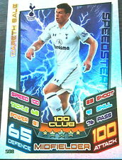 MATCH ATTAX 12/13  GARETH BALE  HUNDRED CLUB   MINT