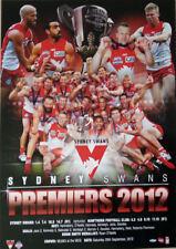 SYDNEY SWANS 2012 PREMIERSHIP MONTAGE PRINT AFL LIC