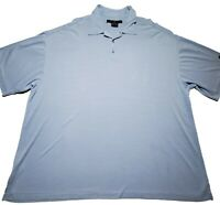 Nike Dri Fit Tiger Woods Collection Mens Blue SS Golf Polo Shirt Size XXL