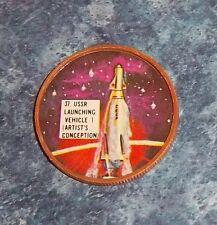 Dare Foods ,Krun-Chee ,Gordon's Krun-Chee  Space Coins 1960's # 37 USSR launchin