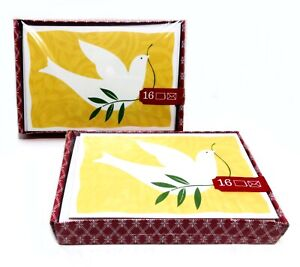 Image Arts Christmas Greeting Cards 2 sealed boxes-16/box(32 Total) Dove Design