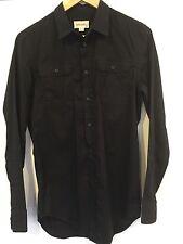Diesel Para Hombre/Niños camisa de mangas largas Negro Pequeño