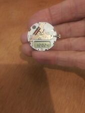 Y652 Silver LCD Watch Movement Breitling Pluton UDT