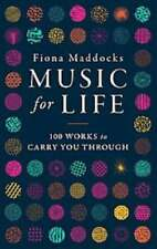 MUSIC FOR LIFE - MADDOCKS, FIONA - NEW HARDCOVER