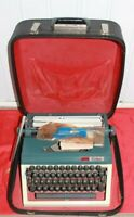 Vintage Erika Model 40 Portable Typewriter 1960s Made in Germany