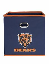 NFL Chicago Bears Collapsible Fabric Storage Cube Man Cave Bookshelf Team