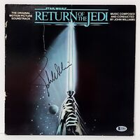 "JOHN WILLIAMS Signed Vinyl LP ""STAR WARS RETURN OF THE JEDI"" Beckett BAS #A16811"