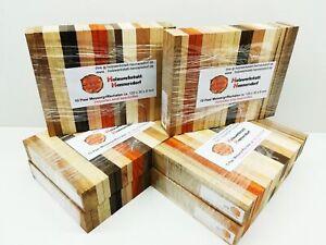 10 Paar Messergriff Schalen ca. 120x30x8 mm, kein Bookmatch Top Ware