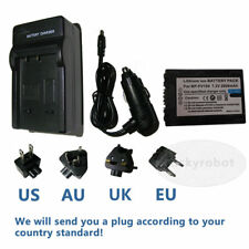 NP-FV100 Battery+charger for Sony Handycam HDR-CX130 HDR-CX160 HDR-CX190 CX210