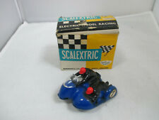 Vintage Scalextric B/1 Typhoon Motorcycle and Side car.