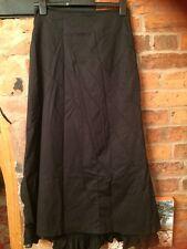 Per Una Victorian Style Skirt Black Size 10 Long Length VGC