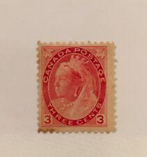 Canada Scott 78 Queen Victoria Three Cent-Mint NH
