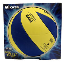 MIKASA  Youth Training Indoor Volleyball in Blue and Yellow