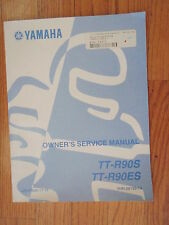 GENUINE  YAMAHA TT-R9O MOTORCYCLE SERVICE MANUAL NEW