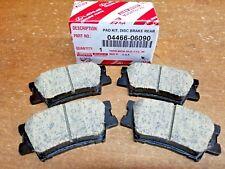 Toyota Camry 2007-2011 Rear Genuine OEM Ceramic Brake Pads w/o Shims 04466-06090