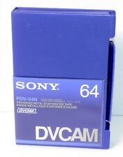 SONY PDV-64N DVCAM TAPE FREE SHIP