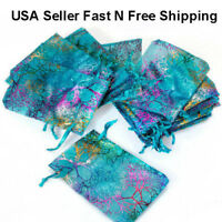 4x6 Coralline Organza Wedding Party Favor Gift Bags Jewelry Pouch 50/100/200pcs