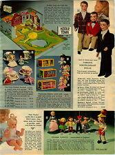 1970 PAPER AD Doll puppets Pelham Kiddles Charlie McCarthy Danny O'Day Pinnochio