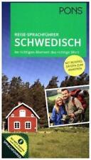 PONS Reise-Sprachführer Schwedisch (2016, Taschenbuch)