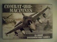Combat Machines: A History of Warcraft Weapons (DVD,Disc Set)