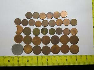 BLANK TOKEN COIN MEDAL PLANCHET LOT *ALL YOU SEE* (37 PIECES) 🌈⭐🌈