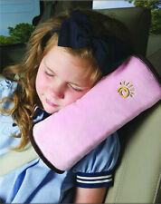 RosaGurtpolster Gurtschutz Kopfkissen Gurtschoner Kind Nackenstütze Baby Autosit