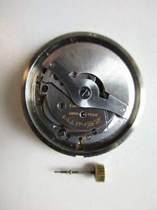 Zenith cal. 408 automatic watch movement with dial - running