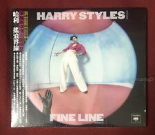 Harry Styles FINE LINE 2019 Taiwan Ltd CD w/OBI (digipak) One Direction