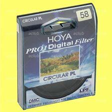 Genuine Hoya 58mm Pro1D CPL Digital C-PL Circular Polarizing Filter