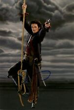 ORLANDO BLOOM signed Autogramm 20x30cm PIRATES in Person autograph COA KARIBIK