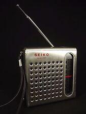 Vintage Dreamland Seiko FS-56 AM FM Portable Transistor Radio Untested TFM-3750W
