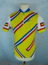 SANTINI Maillot vélo Homme Taille M - Manches courtes - Vintage