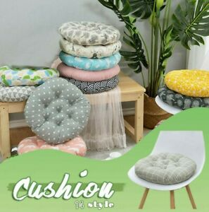 Round Cushions Are Used For Computer Cushions, Office Cotton And Linen Cushion
