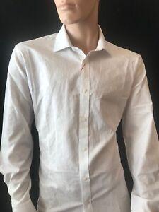 "BNWT TED BAKER LONDON  Men's Bengal Endurance Long Sleeve Shirt. 16.5"" RRP £70"