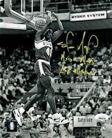 Shawn Kemp autographed signed inscribed 8x10 photo Seattle Supersonics JSA COA