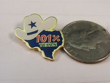 101% TEXAN STATE MAP TEXAS TRAVEL PIN
