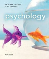 Psychology (3rd Edition), Saundra Ciccarelli, J. Noland White, New Book