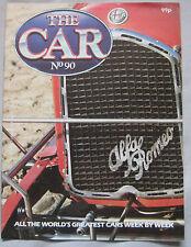 THE CAR magazine Issue 90 featuring VW Beetle cutaway, Alfa Romeo P2 & P3
