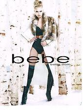PUBLICITE ADVERTISING  2010   BEBE  haute couture  cuissardes
