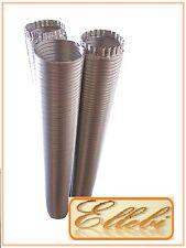 Tubo corrugato estensibile flessibile in Alluminio NEUTRO Ø 80