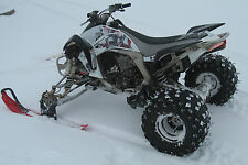 ATV Tires to Polaris Skis Conversion Kit for Honda 700XX 450R 400EX 400X 250R