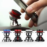 Magnetic 360° Rotation CAR Mobile Phone Bracket Magnet Holder Mount Stand