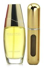 ESTEE LAUDER BEAUTIFUL EAU DE PARFUM For Her 5ml Refillable Spray + Travel Pouch