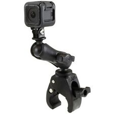 RAM Mount Tough Claw Halteklemme mit Haltearm & Kamerakugel GoPro Hero 4 Session