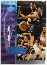 1998 98 Upper Deck AeroDynamics Allen Iverson #A27, Blue Insert Card