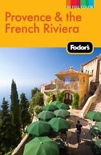 Fodor's Provence & the French Riviera (Full-color Travel Guide)-ExLibrary